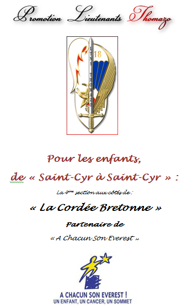 Promotion Lieutenants THOMAZO- St- CYR