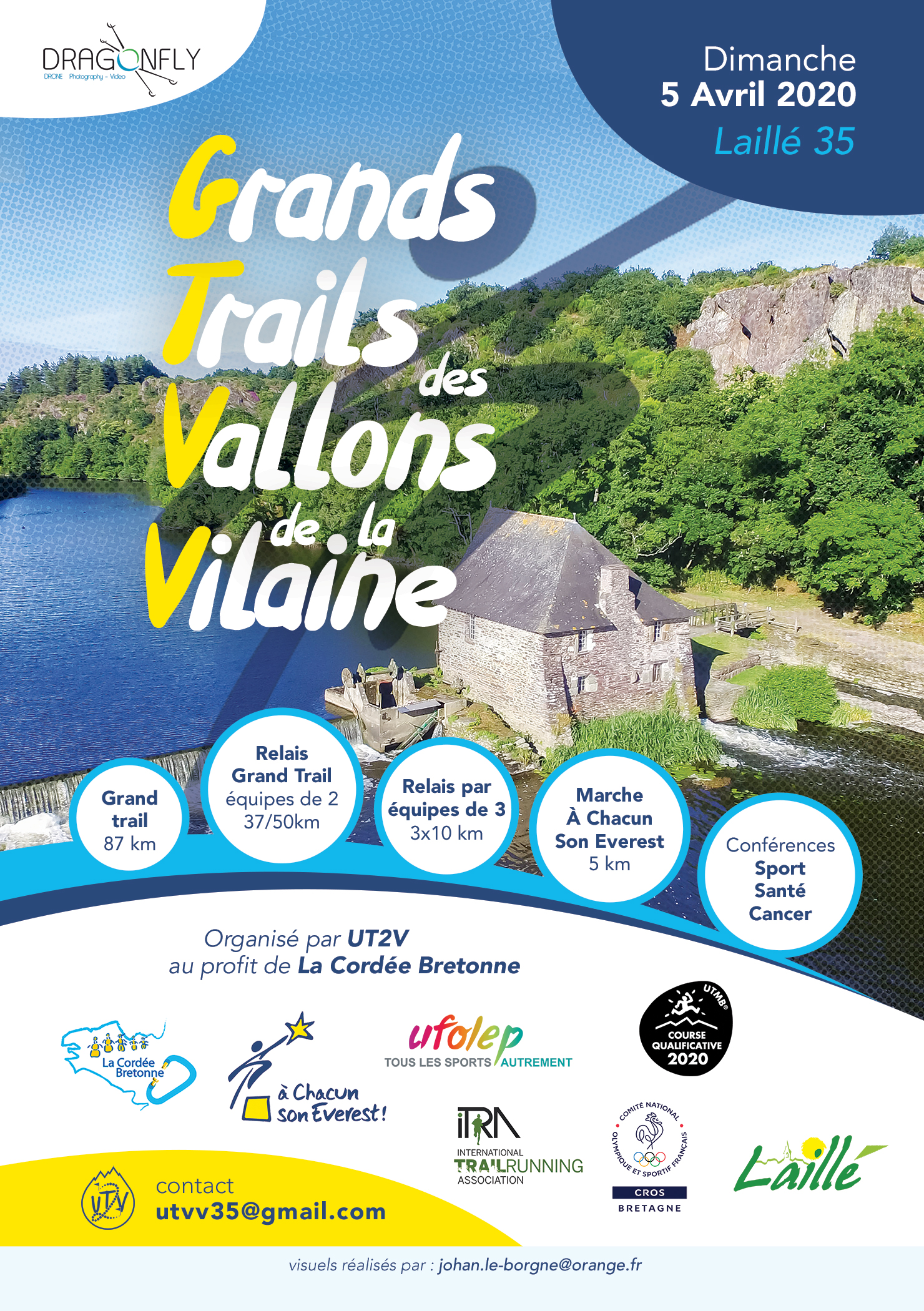 GRAND TRAIL DES VALLONS DE LA VILAINE-INSCRIPTIONS!